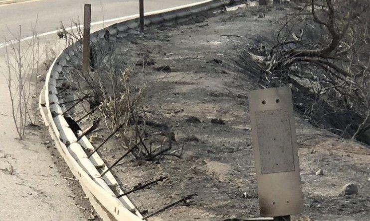 154 guardrail damage