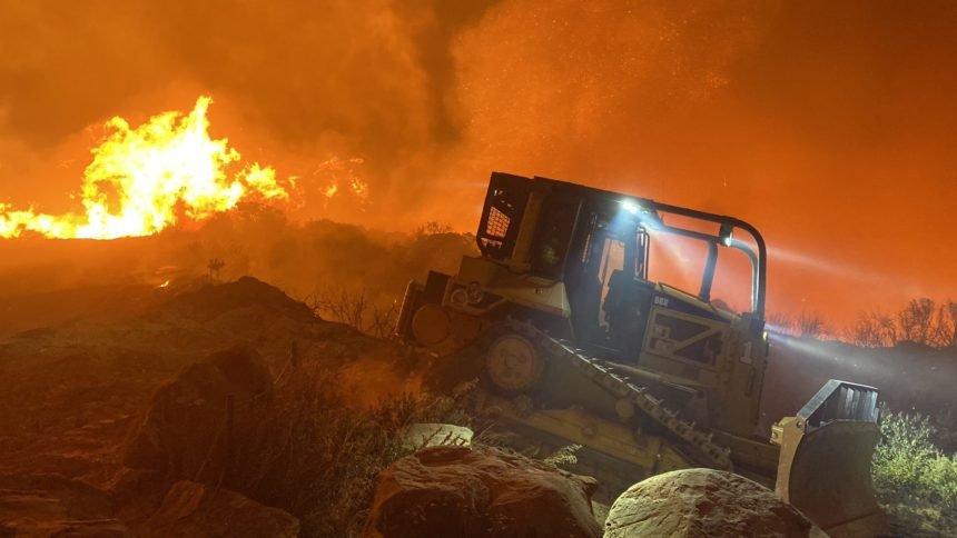 Mike Eliason cave fire 1