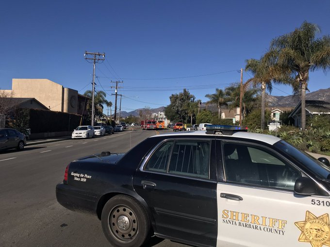 Carpinteria gas line break
