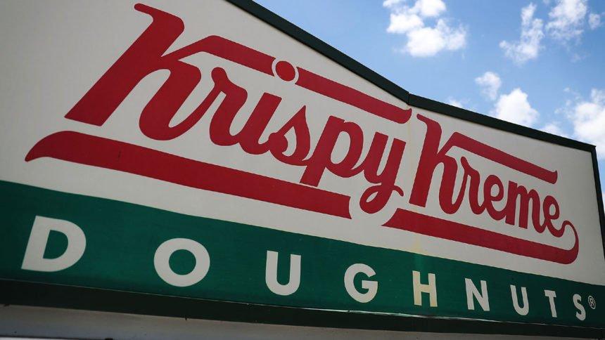 Krispy Kreme Doughnuts sign