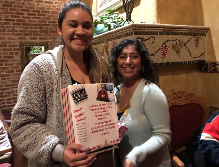 Sandoval fundraiser at Pascucci