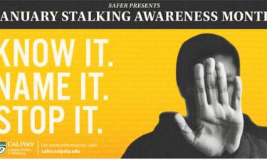 Stalking Awareness Cal Poly