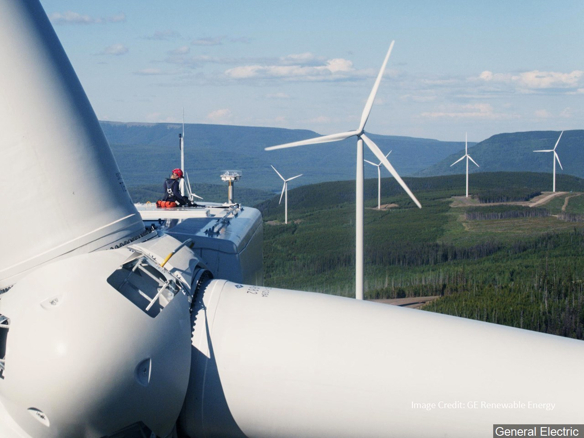 Generic photo of wind farm