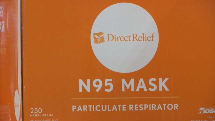 Direct relief mask