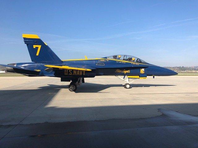 Blue Angels return to Ventura County