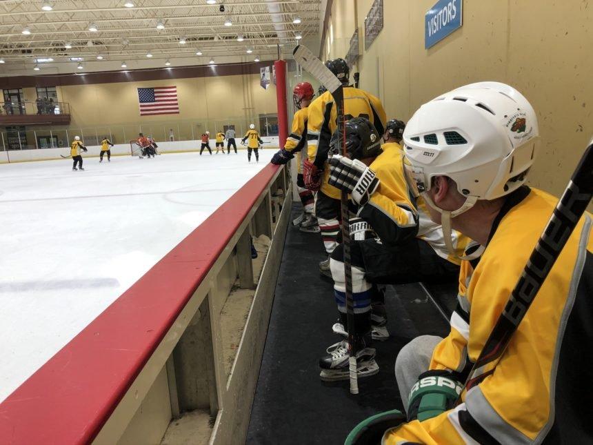 Presidents' Day hockey