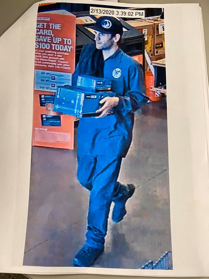 San Luis Obispo Police Search For Man Who Tried To Steal 300 Worth Of Tools Newschannel 3 12