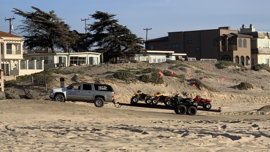 ATV rentals at the Oceano Dunes