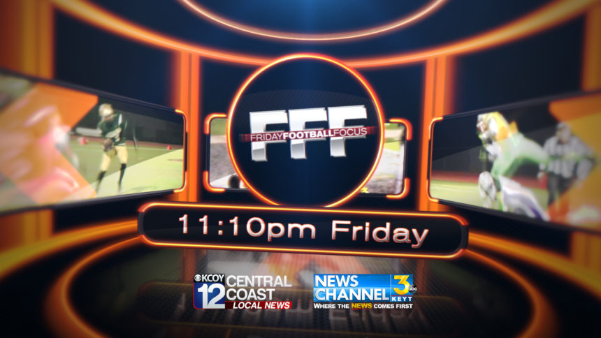 FFF Friday Football Focus Logos Branding Sports
