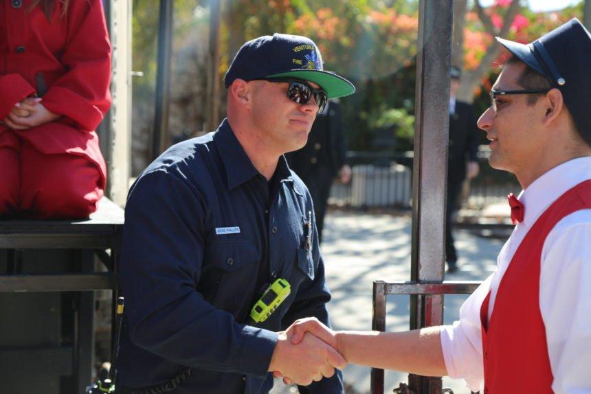Firefighters Photo Op - 1