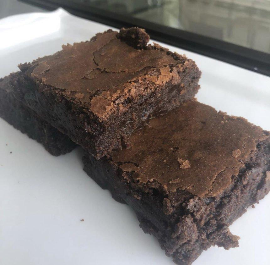 Sugar Lab brownie baking