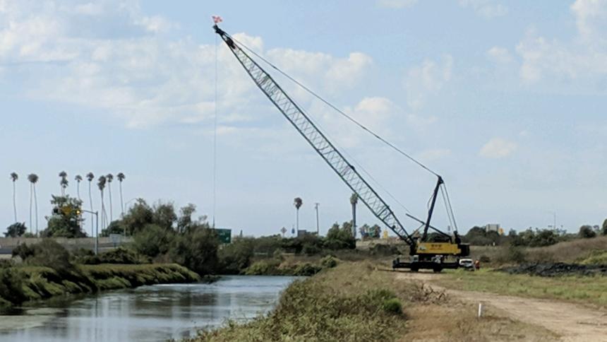 Creek clearing Goleta
