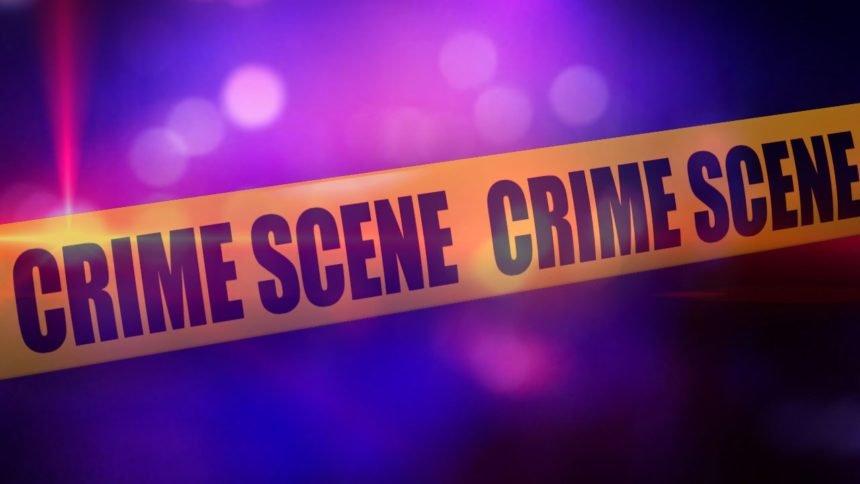KEYT crime scene yellow tape generic police lights
