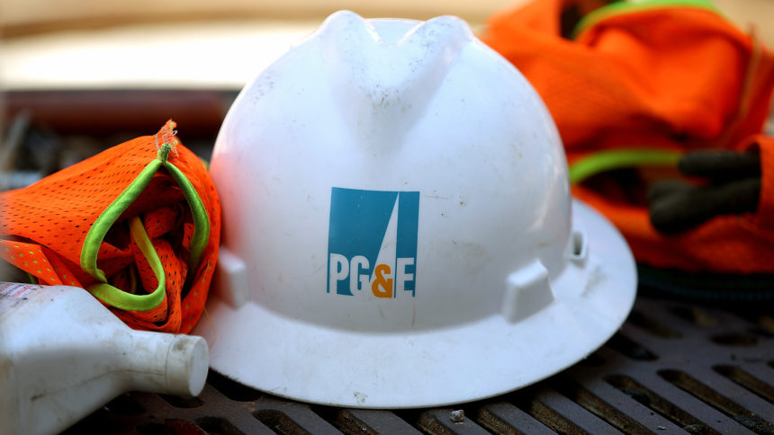 Pacific Gas and Electric helmet PG&E generic
