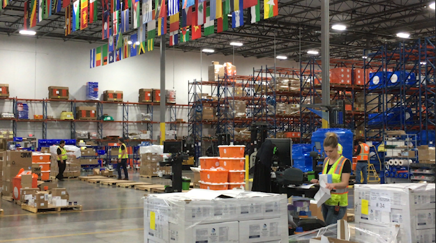 Direct Relief is shipping out its stockpile of medical supplies to hospitals in all 50 states.