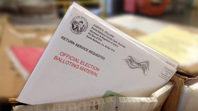 election ballot vote by mail SANTA BARBARA COUNTY