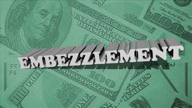 embezzle crime