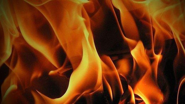 Fire burning near Vandenberg Space Force Base (KEYT)