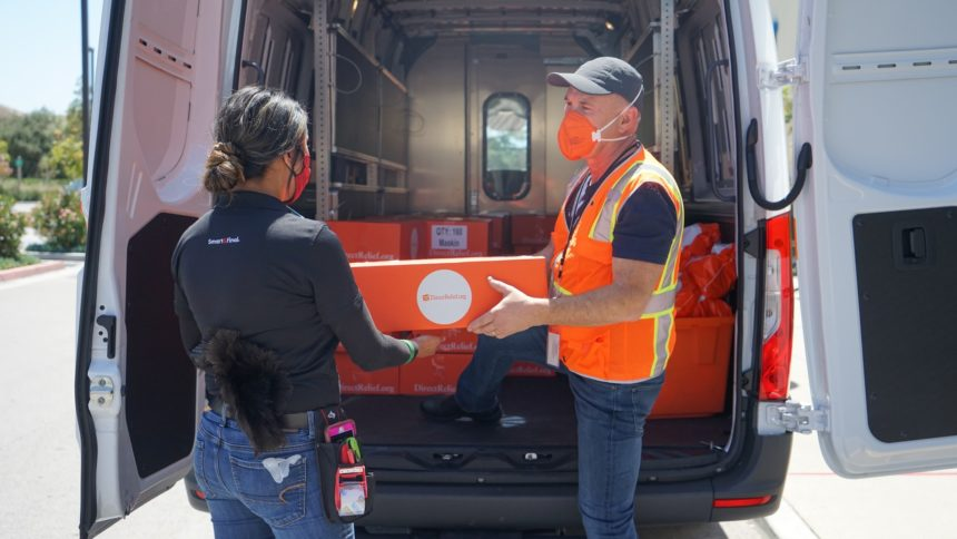 Direct Relief CEO Tighe delivers masks to Santa Barbara businesses