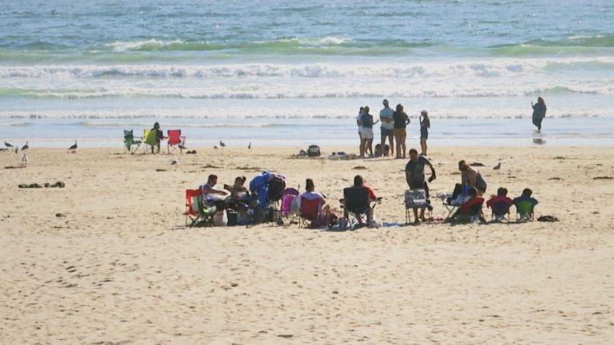 Pismo Beach goers