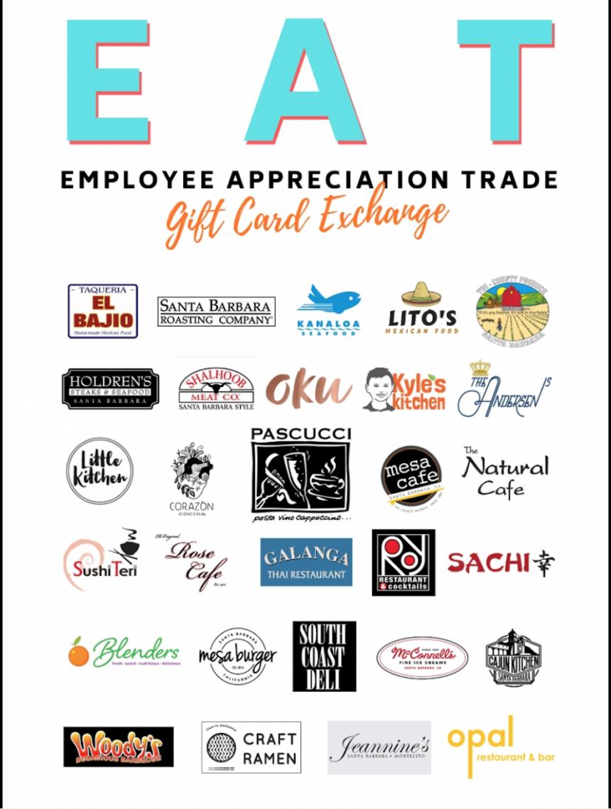 EAT gift card program