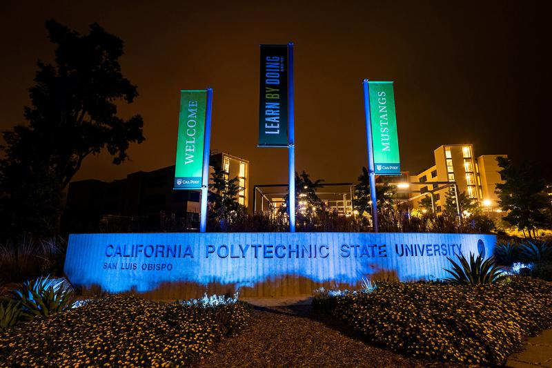 Cal Poly Grand Entrance