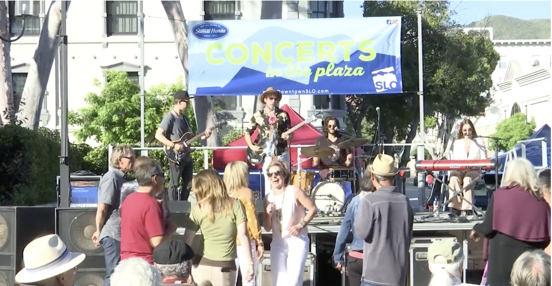 Concerts in the Plaza SLO