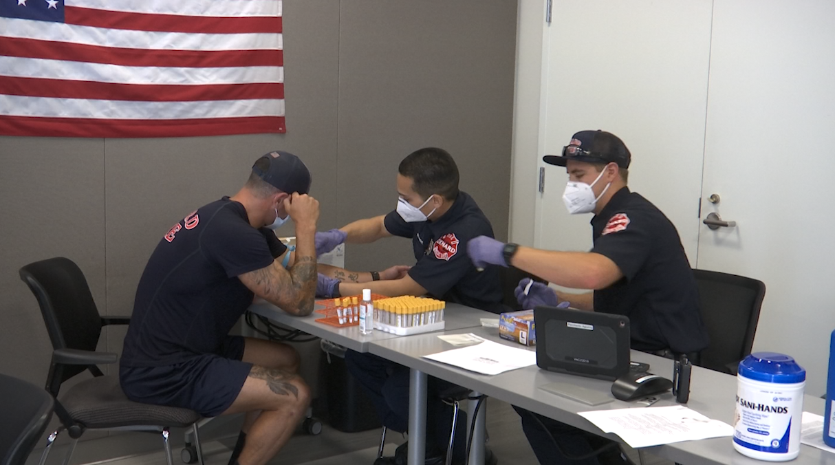 Antibody test for first responders in Ventura County