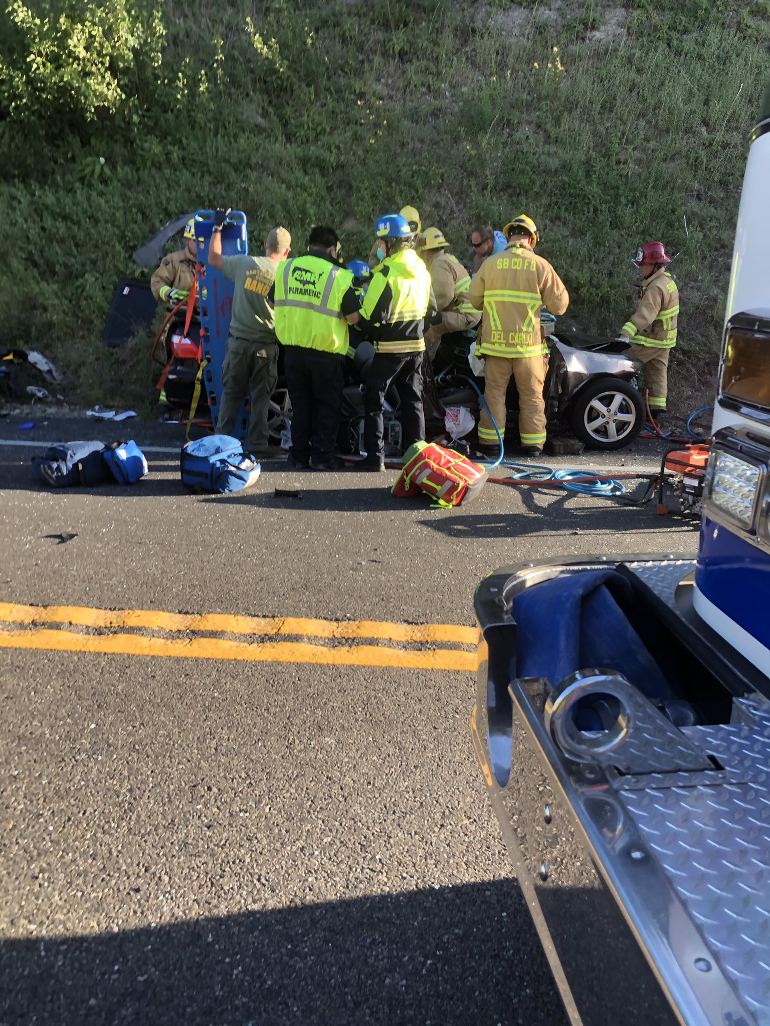 GSP: Three dead, baby hospitalized in multi-vehicle crash
