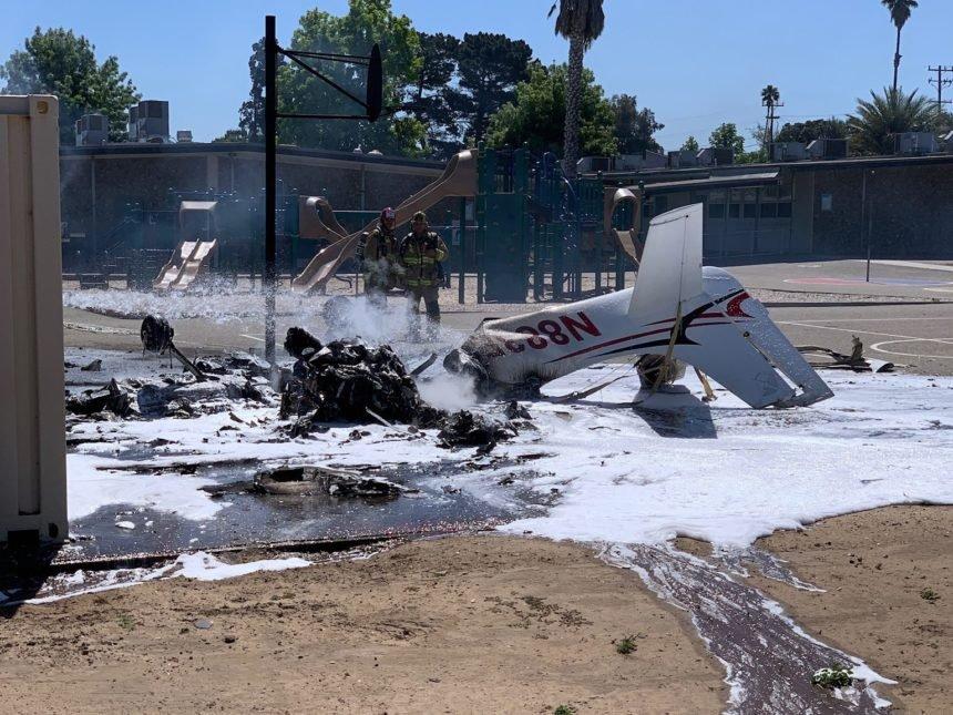plane crash in orcutt 2