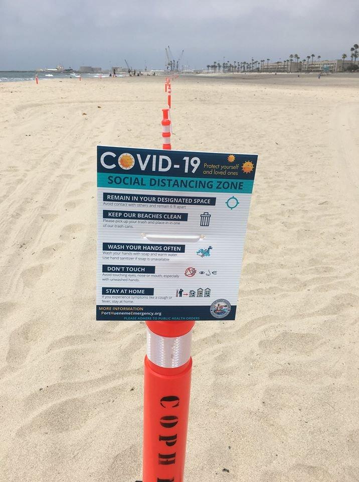 port hueneme beach marker flier