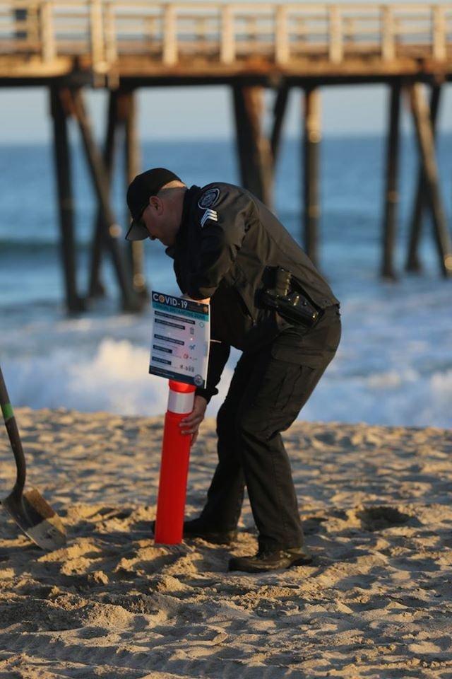 port hueneme beach markers 1