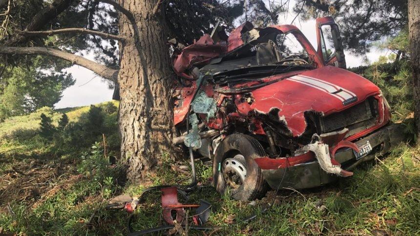HWY 135 truck crash