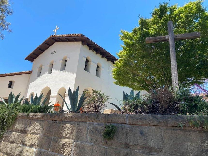 st junipero serra statue removed mission san luis obispo 2
