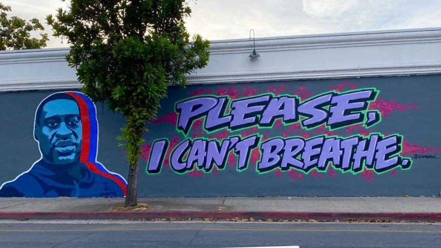 George Floyd mural created on Santa Barbara wall | NewsChannel 3-12
