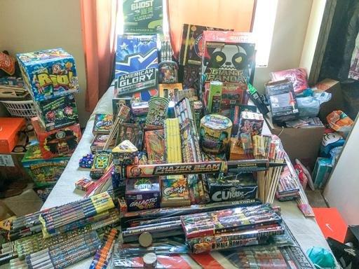 Oxnard Illegal Fireworks