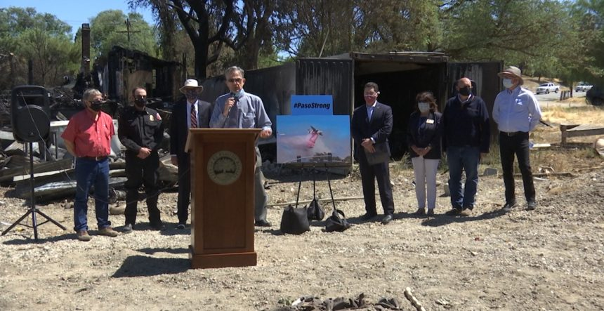 Paso Riverbed Press Conference