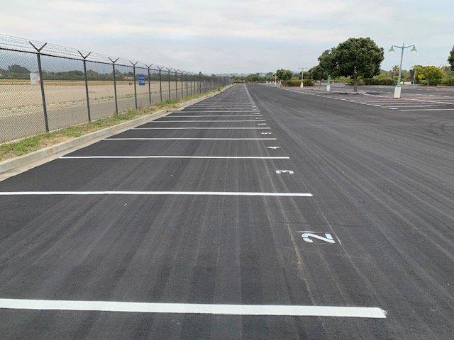 Santa Barbara Airport SB Airport SBA lot