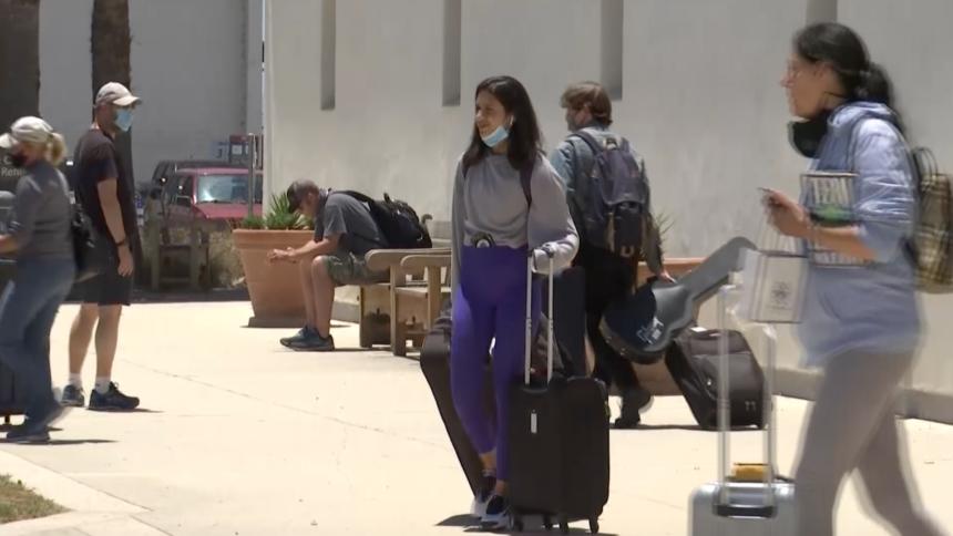 SB Airport pandemic