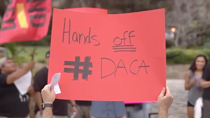 DACA protest SB from 2017