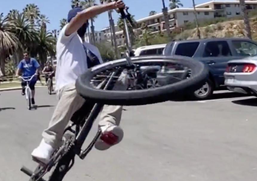 Bike Wheelie