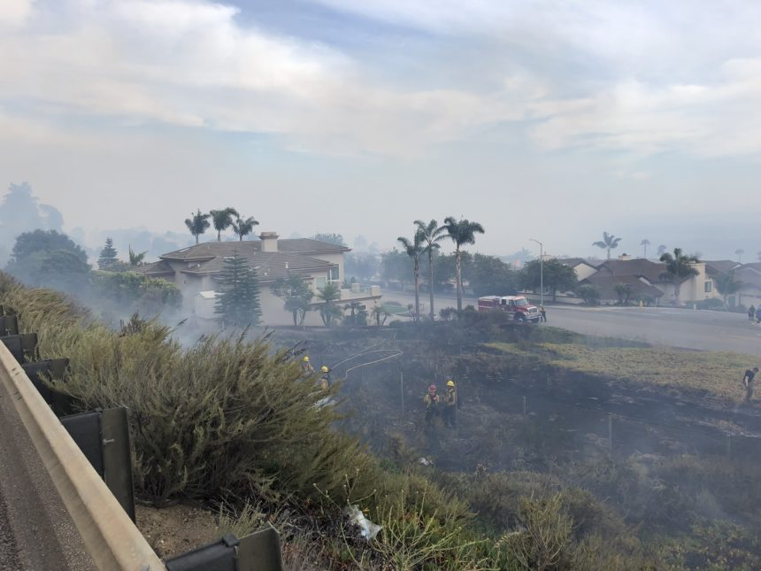avila fire firefighters smoke