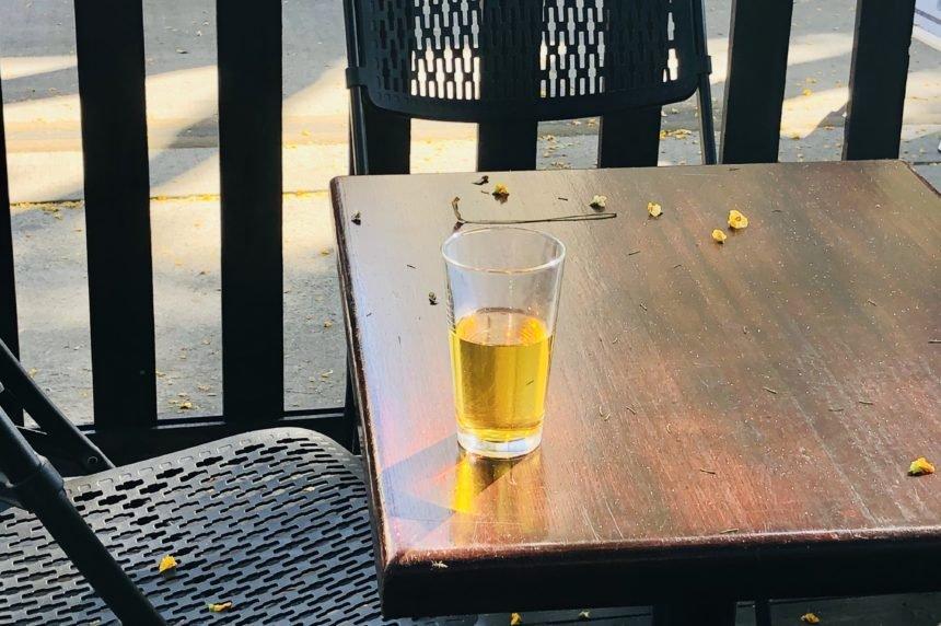 beer left behind