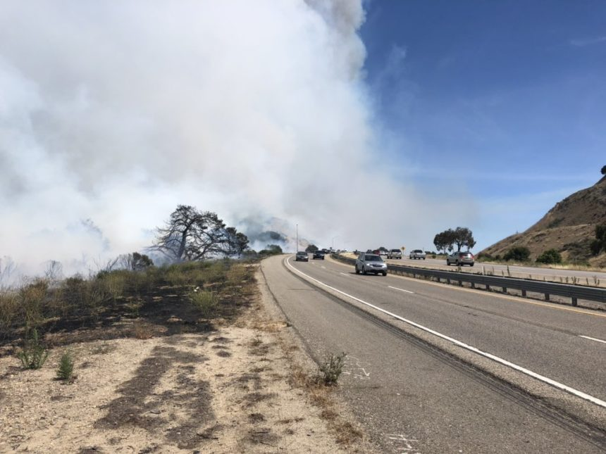 cal fire highway avila fire