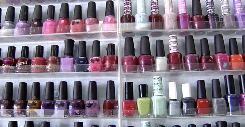 nail polish salon parlor painting