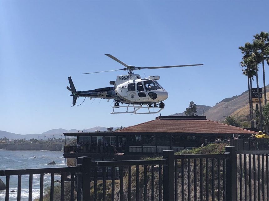 pismo beach hotel helicopter 2