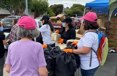 port hueneme food distribution covid volunteers