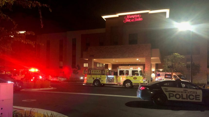 071420 SM Hampton Inn evacuated