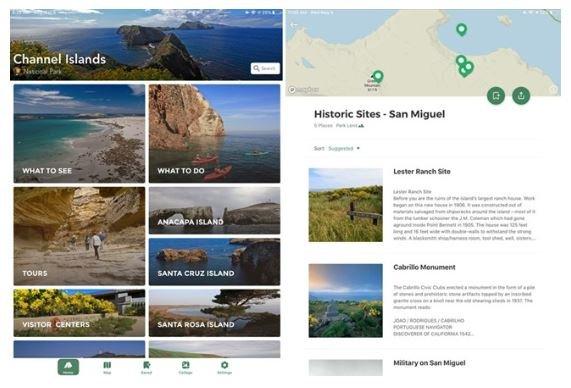 Channel Islands App