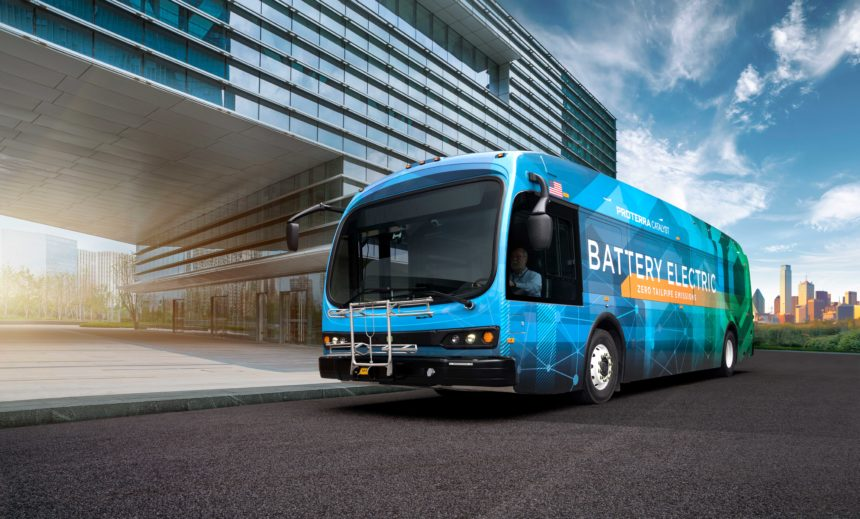 San Luis Obispo Transit new electric buses